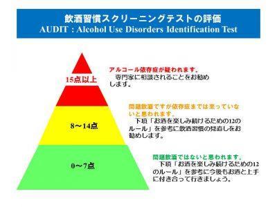 (解説)飲酒習慣スクリーニングテスト(AUDIT)を知っていますか?(healthy-life21.com)